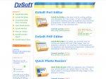 Редизайн сайта OOO «DzSoft»