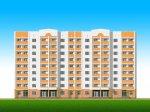 Жилой дом на 64 квартиры