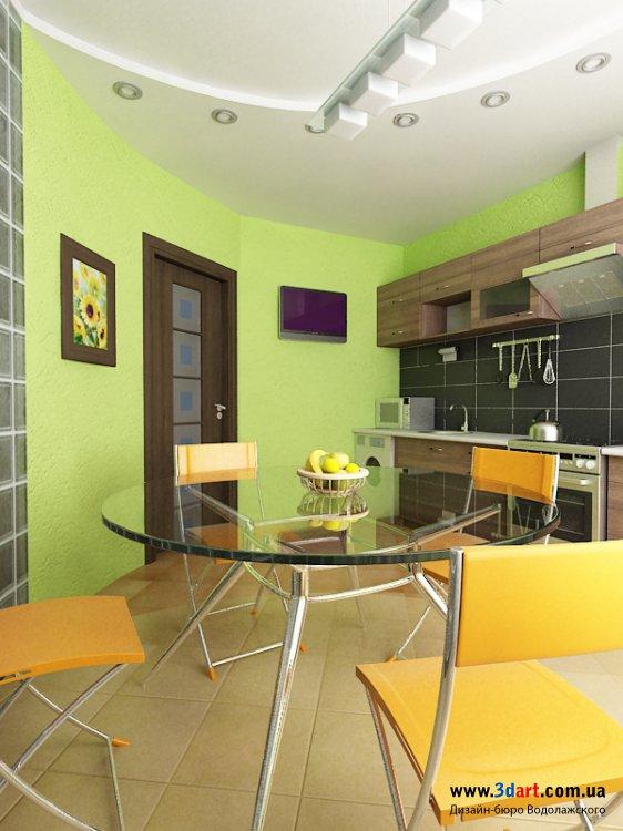 Интерьер 2-х комнатной квартиры