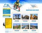 Дизайн сайта туристического агентства Вертикаль