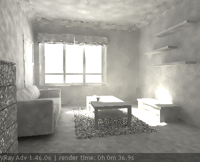 Визуализация интерьера средсвами Vray