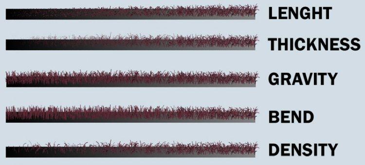 VRay Fur, создание ковролина или просто коврика