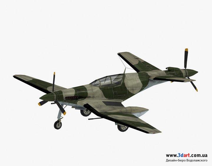 3d модель самолета Dornier Do-420